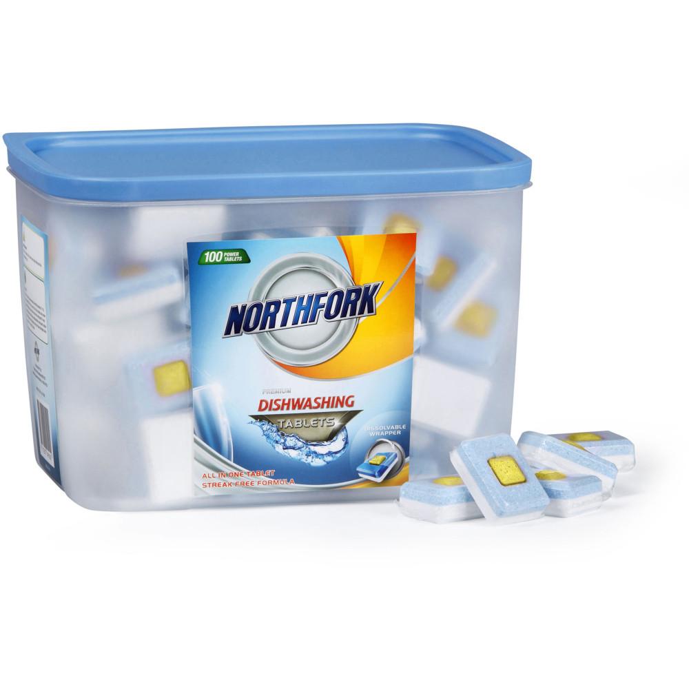 NORTHFORK DISHWASHING TABLETS Premium All In One Tub 100