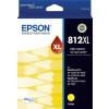Epson 812XL DURABrite Ultra Ink Cartridge High Capacity Yellow