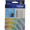 BROTHER LC135XLC INKJET CART Cyan 1200pg High Yield