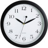 CARVEN WALL CLOCK 300mm Black