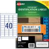 Avery 959220 Triple Bond Industrial Labels White L6140