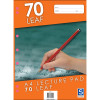 Sovereign Lecture Pad A4 7mm Ruled 70 Leaf