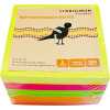 BIBBULMUN STICKY NOTES 76X76mm Assorted Pack of 5