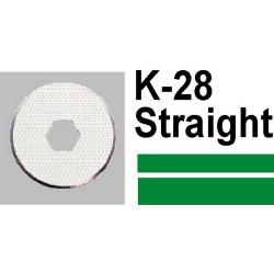 CARL K28 STRAIGHT BLADE DC200 210 230 2Pcs