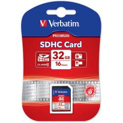 VERBATIM� SDHC MEMORY CARDS 32GB (Class 10)