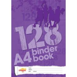 OFFICE CHOICE BINDER BOOK A4 128pg 7 Hole