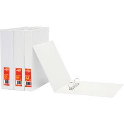 OFFICE CHOICE INSERT BINDERS Enviro A4 2D Ring 25mm White