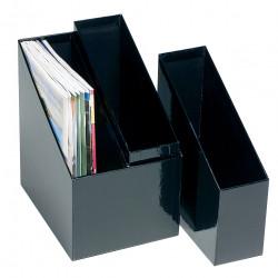 MARBIG MAGAZINE HOLDERS Singlex2, DBLx1, Set3 Black