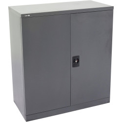 GO STATIONERY CUPBOARD H1015xw910xd450mm Graph Ripple
