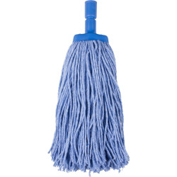 CLEANLINK MOP HEAD Coloured 400gm Blue