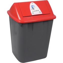 ITALPLAST WASTE SEPARATION BIN Landfill 32LT