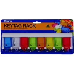 KEVRON KEY TAG RACK 8 Tag Model