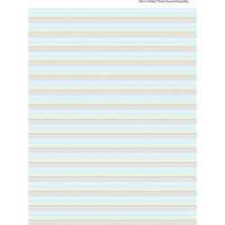 WRITER PREMIUM RULED PAD A4 50 sheet Ground/Grass/Sky