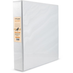 BIBBULMUN A4 INSERT BINDER 4D 38mm White