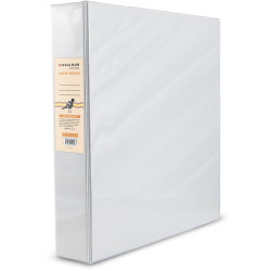 BIBBULMUN A4 INSERT BINDER 3D 38mm White